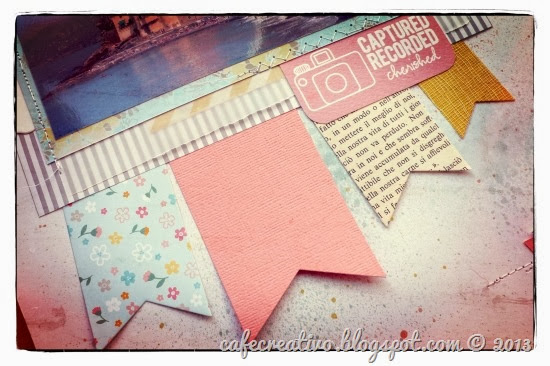 cafe-creativo - big shot - scrapbooking layout Anna Draicchio