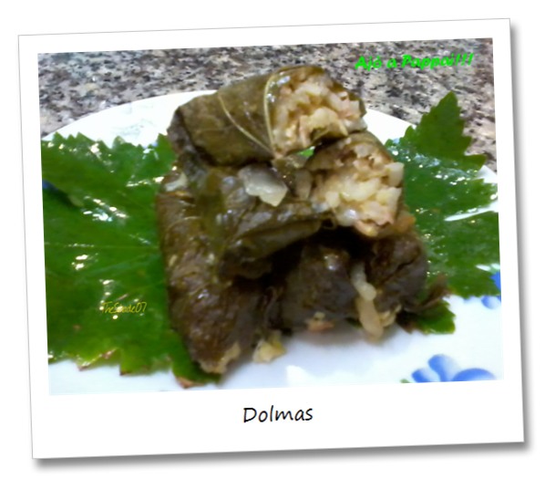 Fotografia della ricetta dei Dolmas