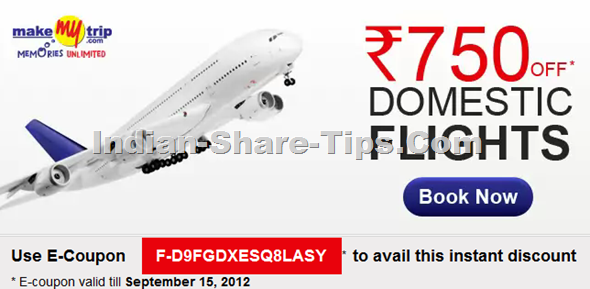 Makemytrip Discount Coupon for Rs 750