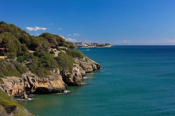 Camí de ronda de Tamarit a la platja de la Mora, muntanya de Sant Joan.Tarragona, Tarragonès, Tarragona