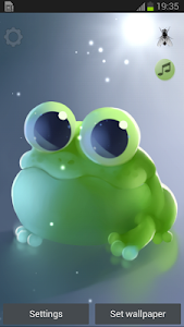 Apple Frog Live wallpaper screenshot 0