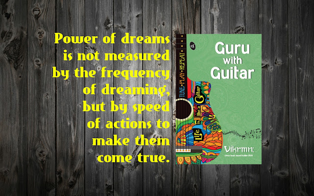 power_dreams_measure_quote_guru_with_guitar_vikrmn_tune_play_repeat_chartered_accountant_ca_author_srishti_vikram_verma_tpr