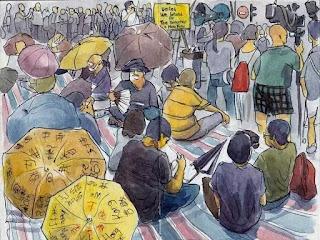Thêm một câu chuyện về tuổi trẻ Hồng Kông