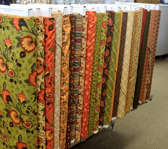 Posh Pumpkins fabric from Moda