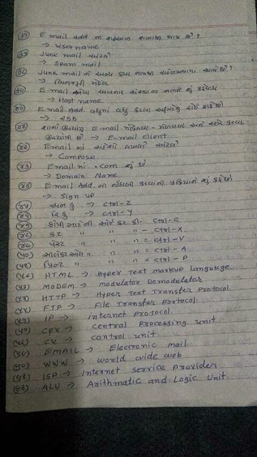 ALL EDUCATION NEWS: GTU CCC/CCC+ EXAM PAPER AND SOLUTION ...
