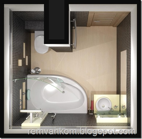 ремонт ванной комнаты 18
