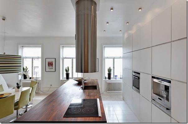 case e interni - casa svedese - Stoccolma - bianco (6)