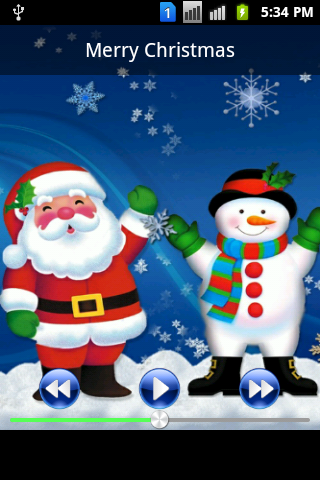 X-Mas Ringtones & Wallpaper - screenshot
