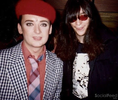 With Joey Ramone from The Ramones my most favourite pop group ever