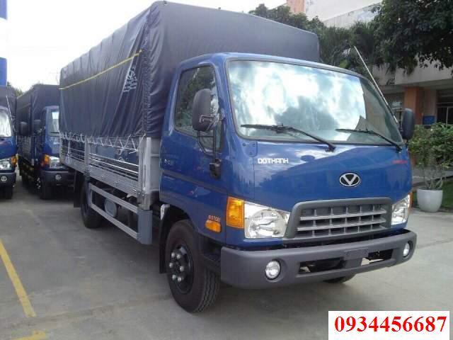 Xe tải 6,5 tấn Hyundai HD98