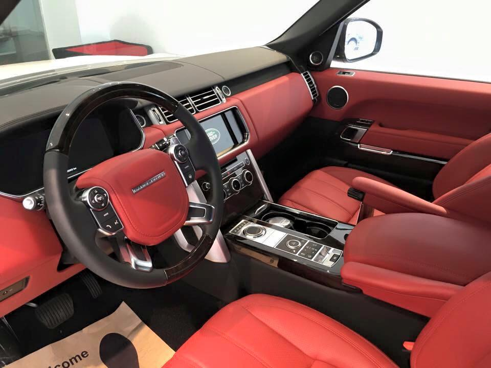 Xe Land Rover Range Rover Autobiography LWB Full Oftion màu trắng 07