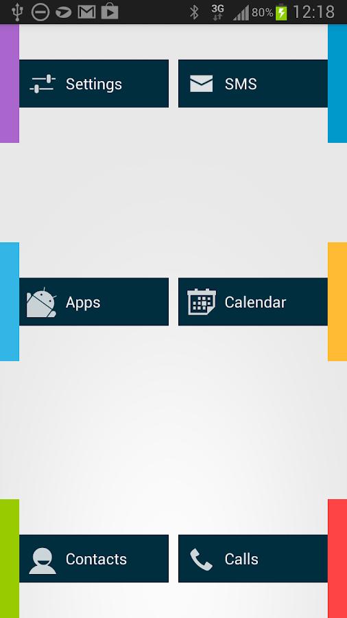 Appsi sidebar- screenshot