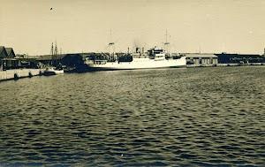 El DARRO o el TURIA en un puerto indeterminado. POSTAL.JPG