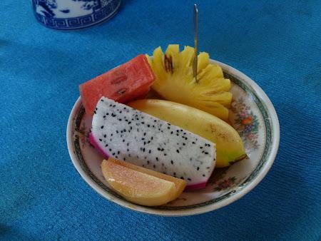 Tur Delta Mekongului: fructe vietnameze