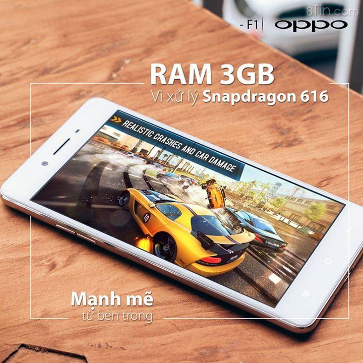 Được trang bị RAM lên đến 3GB, cùng vi xử lý 8