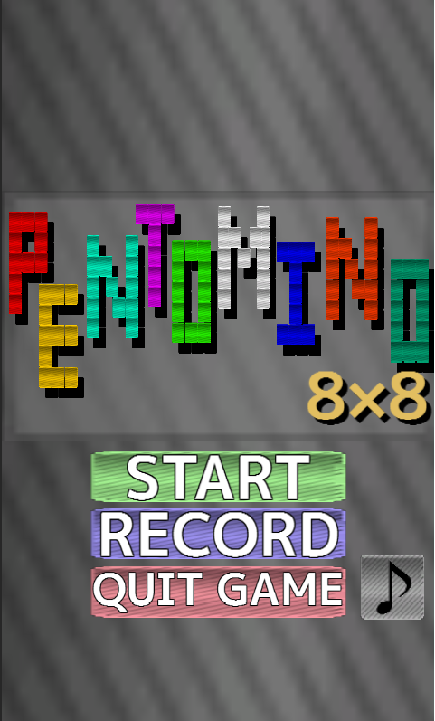 PENTOMINO8x8- screenshot