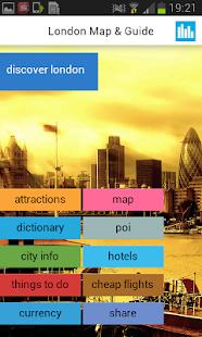倫敦離線地圖,指南