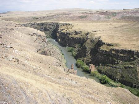 Raul care reprezinta granita Turcia - Armenia