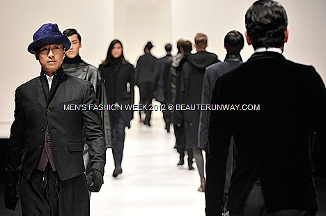 MENS FASHION WEEK 2012 SONGZIO FALL WINTER  KOREAN DESIGNERS jacket shirt MARINA BAY SANDS SINGAPORE SE7EN K-POP J CELEBRITIES