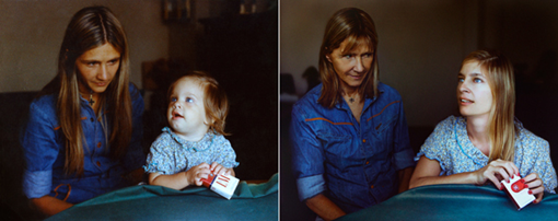 MARITA & COTY in 1977 & 2010, Buenos Aires