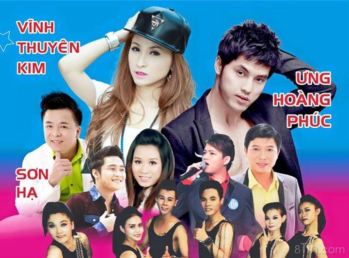 Lịch diễn Tour Mobifone Xuyên Việt ^_^