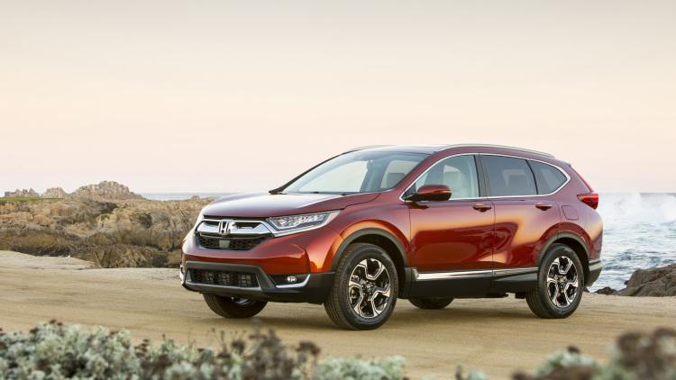 Đánh giá xe Honda CR V 2017 03