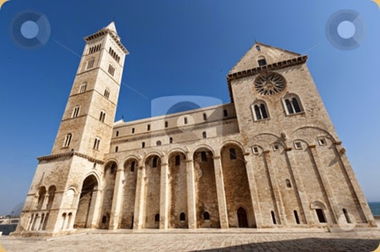 Trani (Puglia, Italy) - Medieval cathedral in romanesque style