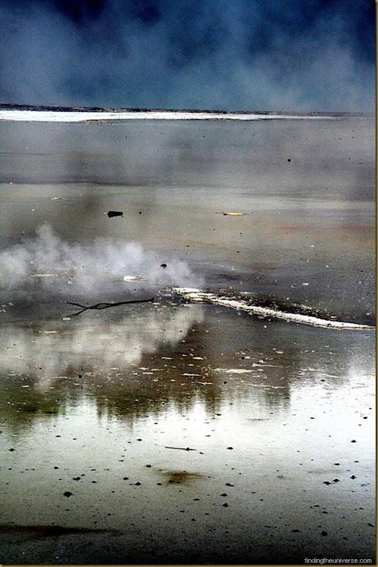 Small steam vent at Wai-O-Tapu near Rotorua