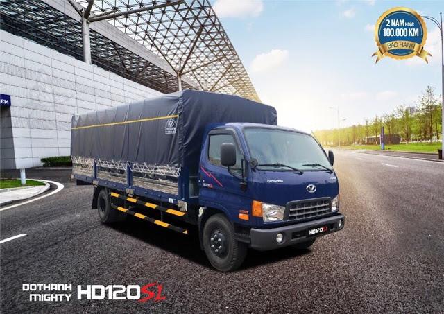 Bảng báo giá xe tải Hyundai HD120sl Đô Thành mới nhất 2018