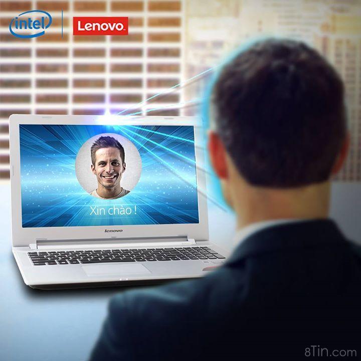 Giờ đây với công nghệ Intel RealSense trong máy tính Lenovo Z51,