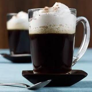 Vanilla Almond Milk Latte.