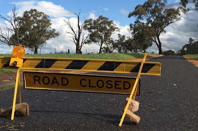 Road closure information Please check with wwwlivetrafficcom and Local Councils