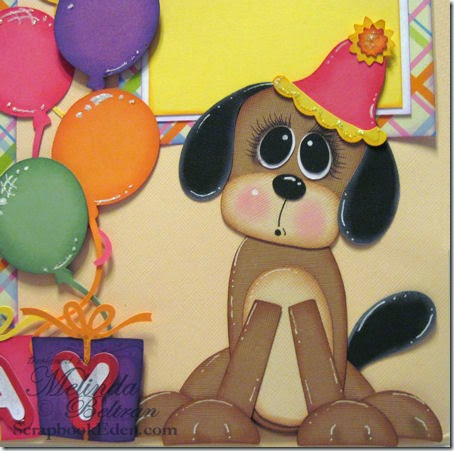 PAPER PIECING DOG 450