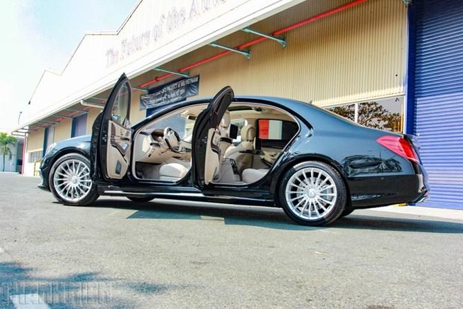 Xe Mercedes Benz S65 AMG 05