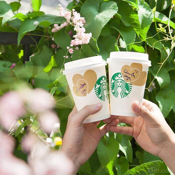 Cùng Starbucks Vietnam gửi gắm những lời yêu thương theo cách ngọt