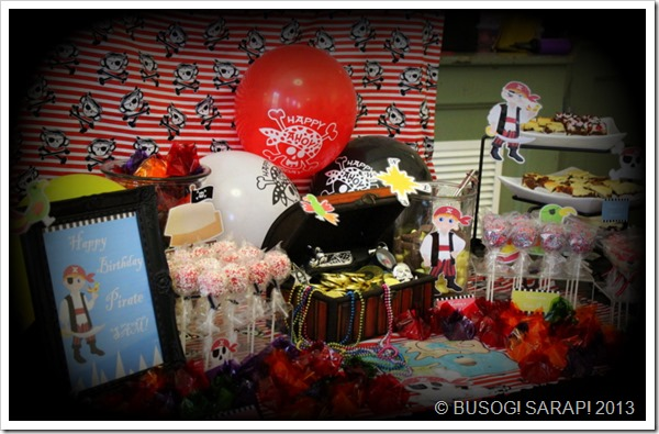 PIRATE THEMED DESSERT TABLE© BUSOG! SARAP! 2013