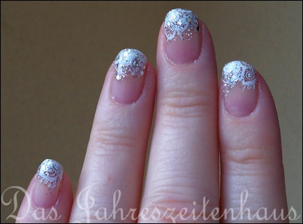 Schnee Winter Nageldesign 6