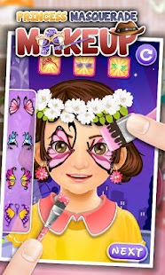 Princess Masquerade Makeup - screenshot thumbnail