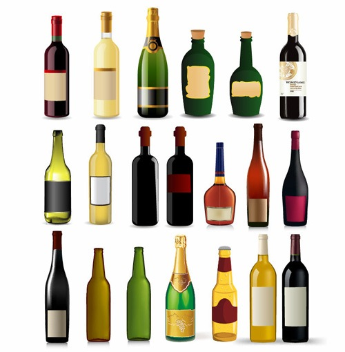 botellas-vino-champan-licor-brandy-cerveza