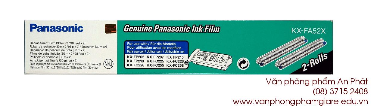 Film fax Panasonic KX FA 52X