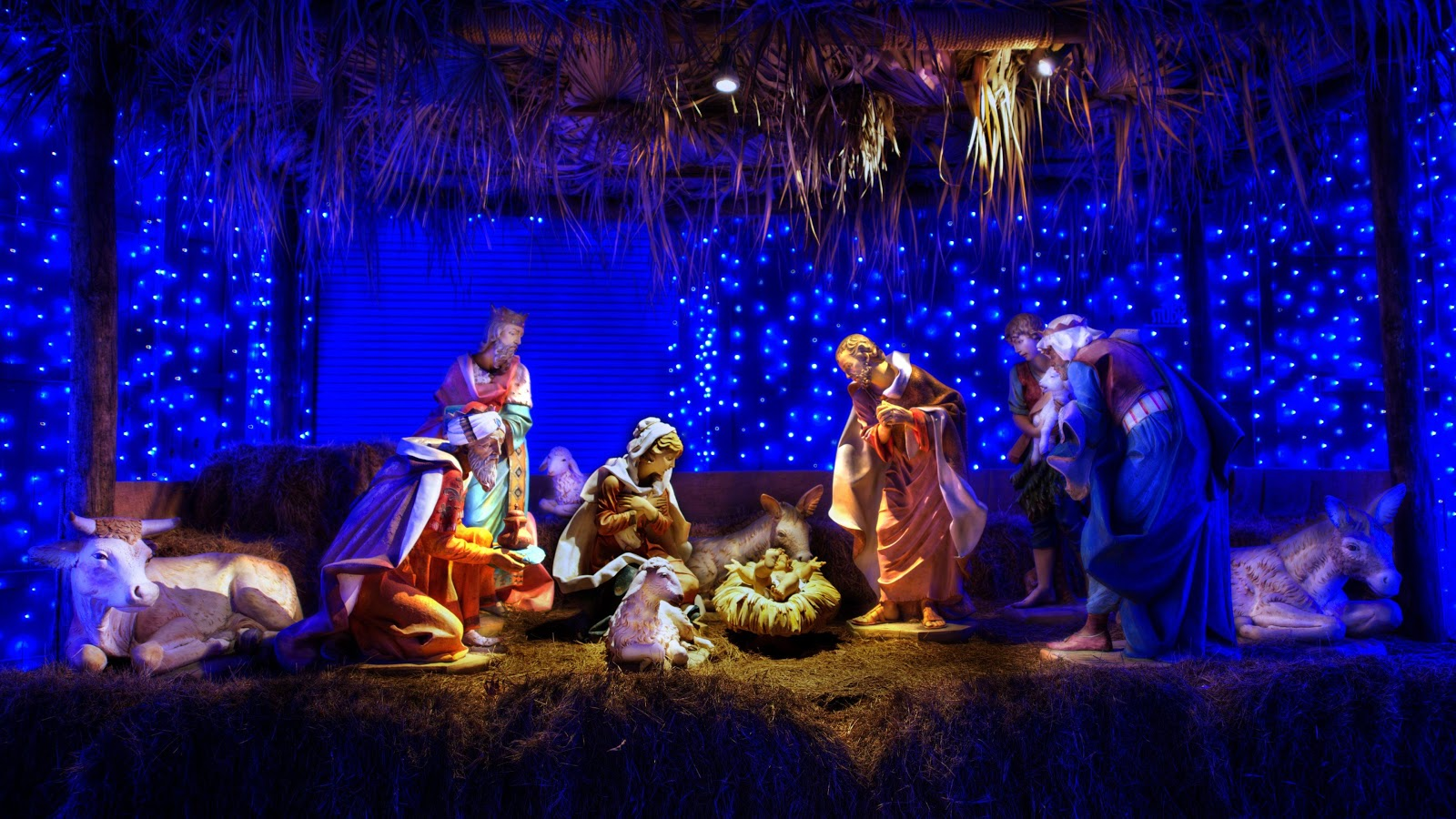 Christmas crib wallpaper 3- screenshot