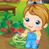 Baby in Garden - Kids games