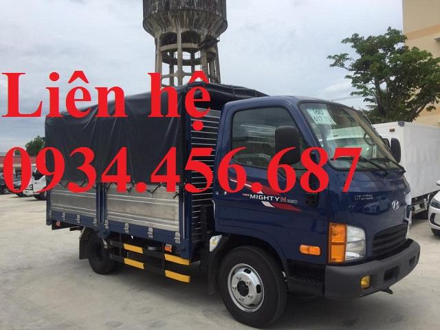 Xe tải Hyundai N250L thùng bạt