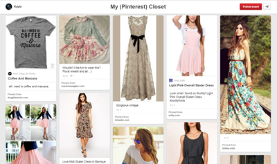 My (Pinterest) Closet ~ A Guide to Styling Vintage | Lavender & Twill
