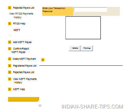 PNB NEFT form filling procedure