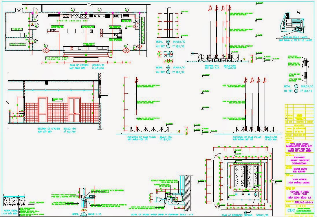 kitchen autocad file