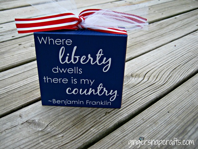liberty quote block