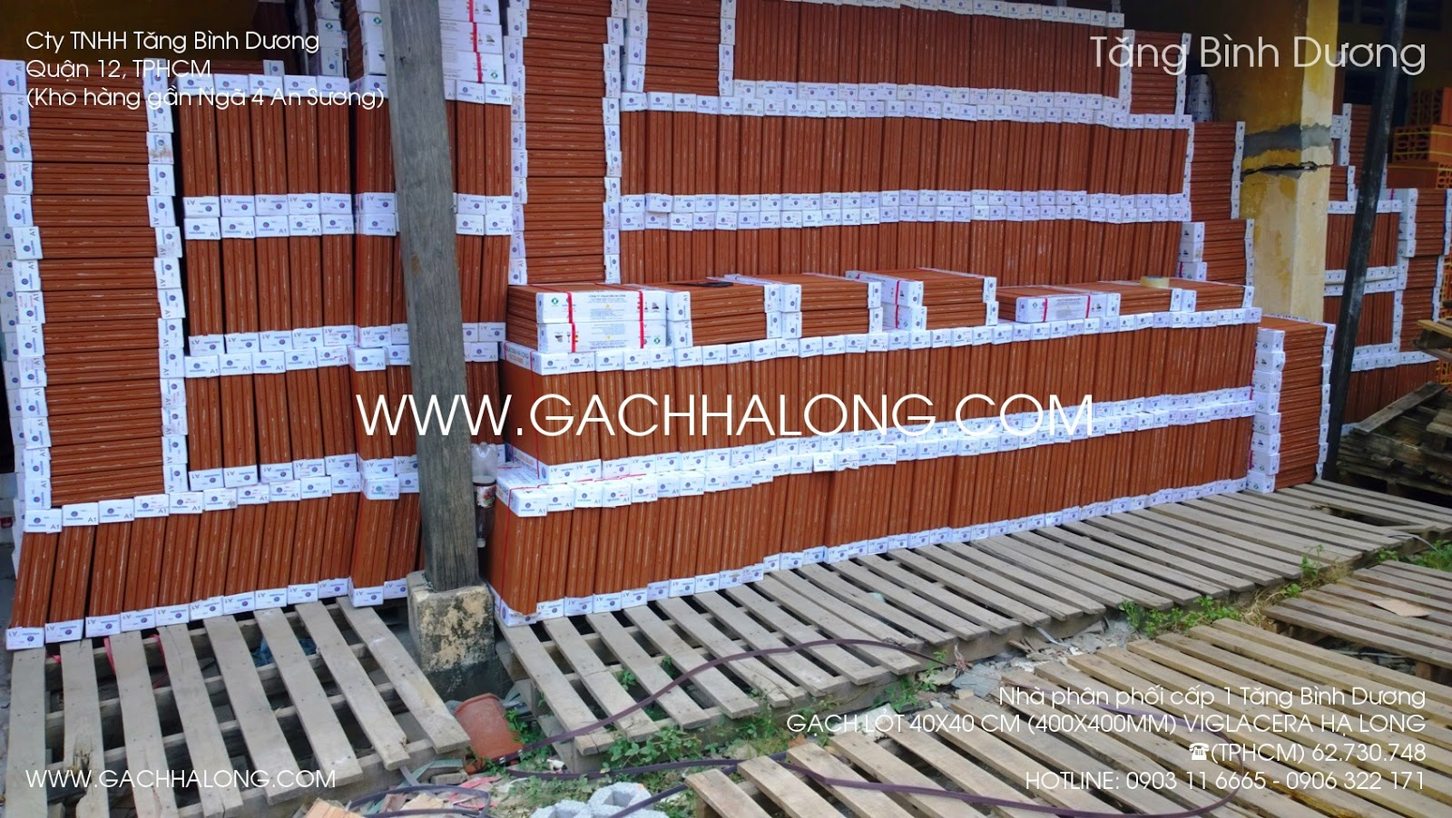 gach lat 40x40 ha long