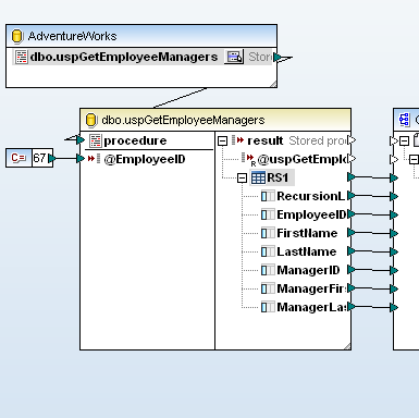 Mapping stored procedures
