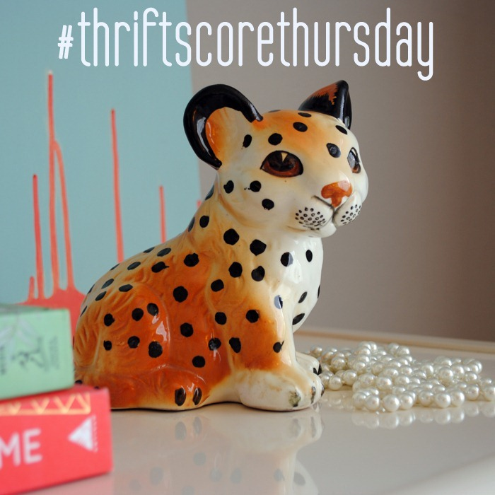 thriftscorethursday leopard